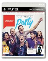 Singstar Ultimate Party Playstation 3 PS3 **FREE UK POSTAGE!!**