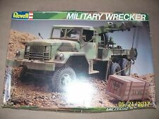 RARE 1:32 Revell Military Wrecker, open, missing decals. NOT a snap-tite kit!