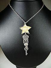 Pilgrim Kette, Halskette, Collier, Schmuck, Modeschmuck, Stern, Herz, Schlüssel
