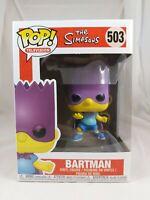 Television Funko Pop - Bartman- The Simpsons - No. 503