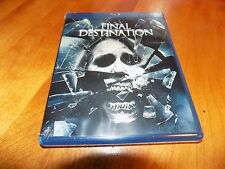 THE FINAL DESTINATION Horror Suspense Classic Bobby Campo BLU-RAY SEALED NEW