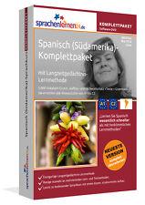 Spanisch (Südamerika) lernen - Sprachkurs-Komplett-DVD plus Smartphone-Version