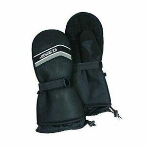 Clam Cold Winter Mitten Gloves XL Black ~ New