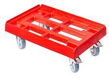 Transportroller Transportwagen Rolli für Kisten 60 x 40 cm mit 2 Bremsen