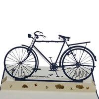 3D Pop Up Karten Handarbeit Sport Bike Happy Birthday Weihnachten Gruß CJ