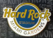 Hard Rock Cafe STADIUM Miami Gardens 2016 Classic HR Logo PIN on Card Dolphins