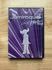 Jamiroquai - Live At Montreux 2003 (DVD, 2007) Complete With Insert