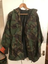 NEW - Windproof Combat Smock, size 180/90 Woodland DPM, Wire Hooded Jacket