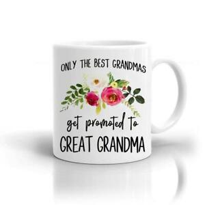 Gift Novelty Great Grandma Birthday Best Mug christmas gift for grandma/Grandmom