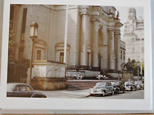 1941 Museum Natural History Manhattan COLOR ! NYC Photo 8x10  old cars !