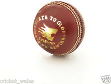 1 x Leather Classic Cricket Ball - Size: Standard, Diameter: 7.2 cm RED