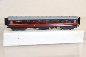 D&S KIT BUILT BRASS BR MAROON 1st CLASS COACH E1326E LAWRENCE GODDARD nx