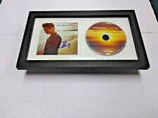 CHRIS CARRABBA Dashboard Confessional SIGNED + FRAMED Dusk and Summer CD Album
