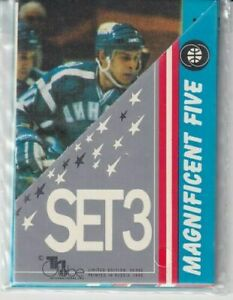1992 TRI GLOBE ANATOLI SEMENOV MAGNIFICENT FIVE SET #3, 5 CARD SEALED SET !! A34