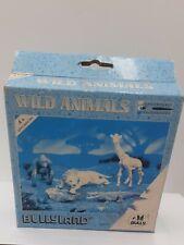SET WILD ANIMALS BULLYLAND LION GORILLE GIRAFE CROCODILE