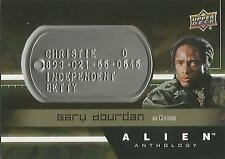 "Alien Anthology - DT-CR Gary Dourdan ""Christie"" Space Marine Dog Tag Card"