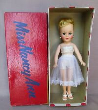 "Vintage 10"" Miss Nancy Ann Doll Blond Ponytail #300 In Box"