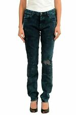 Just Cavalli Dark Wash Distressed Women's Skinny Jeans US 4 IT 26