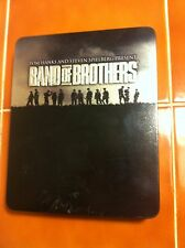 BAND OF BROTHERS 6 DVD SET IN GIFT TIN BOX SET VERY NICE L@@K! BLU RAY