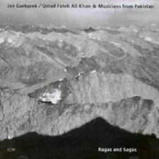 JAN GARBAREK/USTAD FATEH ALL KHAN - RAGAS AND SAGAS  CD  5 TRACKS  JAZZ  NEU