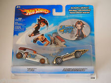 HOT WHEELS SHAMAN KING 2PK YOH,AMIDAMARU & COLLECTOR STICKER `04 New 1:64