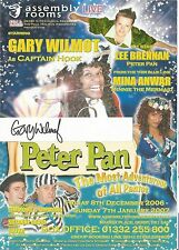 Genuine Hand Signed Autographed Theatre leaflet - Gary Wilmot