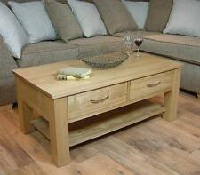 Rectangle Contemporary Coffee Tables with Drawers