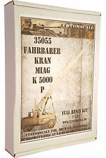 1:35 35055 Fahrbarer Kran Miag K 5000-P Full Resin Kit Custom-Scale
