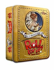 Roll For It! Deluxe Family Dice Game Calliope Games Up to 8 Players Tin Box