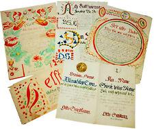 1842-44 Manuscripts - GERMAN MONASTIC WRITINGS with WATERCOLOUR Illustration