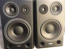 Fostex PM841 Active Studio Monitors pair 3 way professional *Rare*