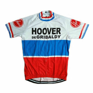 1971 HOOVER DE GRIBALDY  cycling Short Sleeve Jersey mens Cycling Jersey