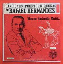 Marco Antonio Muniz Canciones De Rafael Hernandez ICP Puerto Rico NMINT