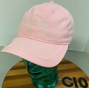 NWT WOMENS ADIDAS EAGLE BROOK COUNTRY CLUB HAT PINK UPF 50+ ADJUSTABLE      C10