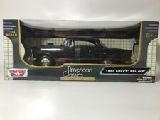 1955 Chevy Bel Air Collectors Club 1:18 Scale Model Motor Max NEW