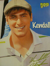 Kendall Schmidt, Big Time Rush, Full Page Pinup