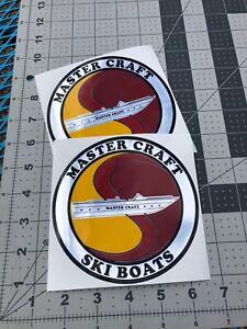 Master Craft Speed Boat Decals Set 2