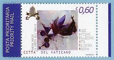 VATICANO 2004 - € 0,60 LA CADUTA DELLl'ANGELO DENT. 13 3/4 x 13 1/4 - NUOVO
