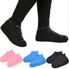 Latex Wear-resistant Non Slip Reusable Shoe Covers Boot Waterproof