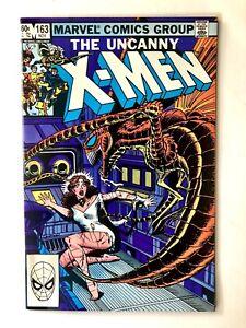 Uncanny X-Men #163- Marvel 1982- Claremont Cockrum- Kitty Pryde/Brood- VF+