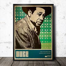 Duke Ellington arte cartel Música Jazz Coltrane Charlie Parker Miles Davis