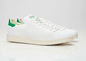 Adidas Originaux Stan Smith Og Primeknit Baskets En Blanc et Vert