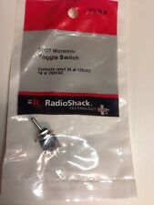 SPDT Micromini Toggle Switch #275-0625 By RadioShack