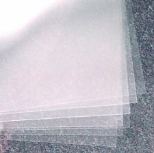 "Clear Oriented Polystyrene Acetate Sheets 16"" x 24,"" 4 Mil - Pack of 10"