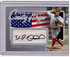 KYLE DRABEK 2011 ITG Country of Origin Auto Autograph /40 SP Signed Rookie Card