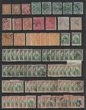 D2068: 19th C Guatemala Stamp Lot; Cv $1330