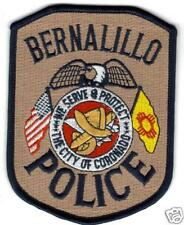 BERNALILLO POLICE  PATCH