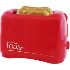 NEW LLOYTRON 2 SLICE TOASTER RED 750W COOL TOUCH