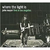 JOHN MAYER Where the Light Is 2 cd set Live in Los Angeles 22 tracks 2008