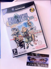 Final Fantasy Crystal Chronicles NINTENDO GC SIGILLATO RARE WII